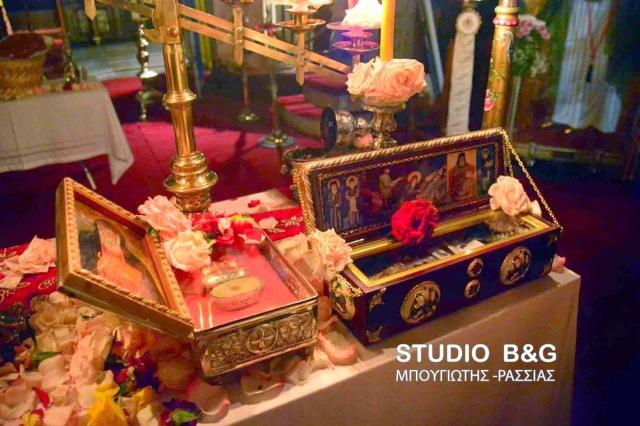 Λείψανο Οσίου Αρσενίου του Καππαδόκου. Ιερός Ναός Παναγίας (Γενεσίου της Θεοτόκου) Ναυπλίου. http://leipsanothiki.blogspot.be/